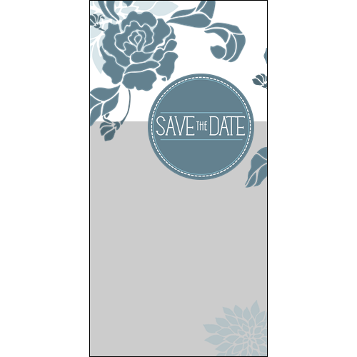 Save the Date Flower P