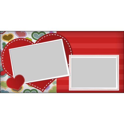 4x8 Valentines Scrapbook L