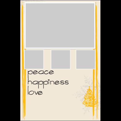 Peace Happiness Love