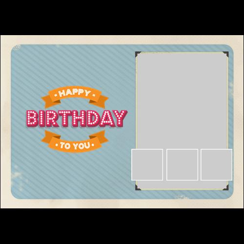 Happy Birthday Vintage