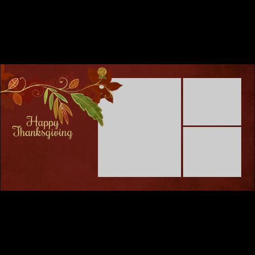 4x8 Thanksgiving Flower L