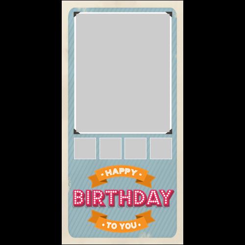 Happy Birthday Vintage P