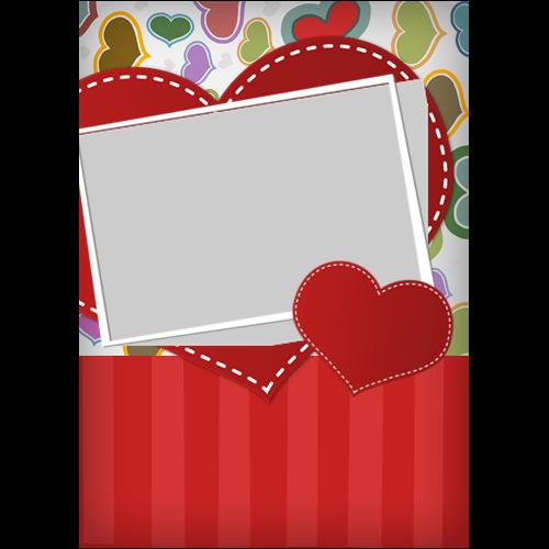 5x7 Valentines Scrapbook P