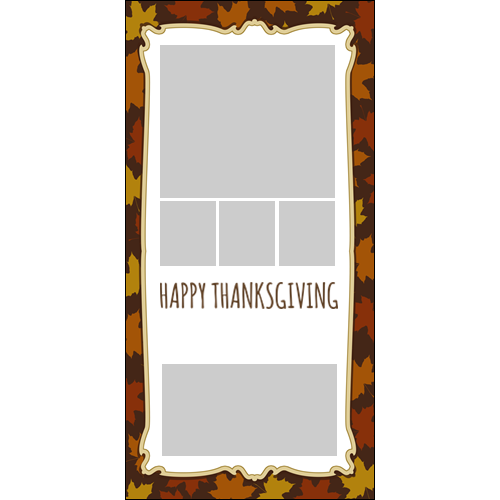 4x8 Thanksgiving Flowers P