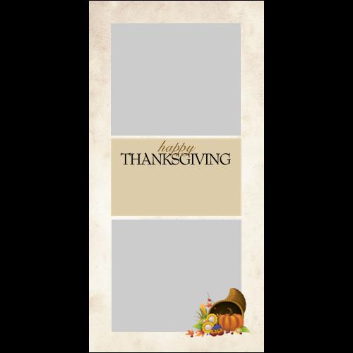 4x8 Thanksgiving Cornucopia P