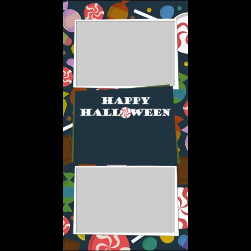 4x8 Happy Halloween Candy P