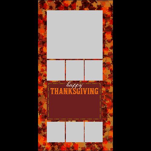 4x8 Thanksgiving Lot Maple P