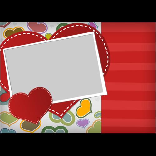 5x7 Valentines Scrapbook L