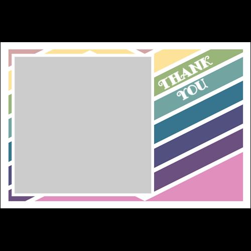 Thank You Stripes L