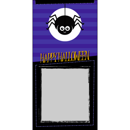 4x8 Happy Halloween Spider P