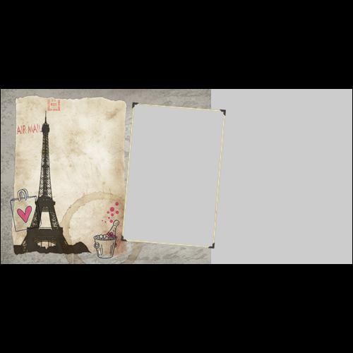 4x8 Valentines Paris L