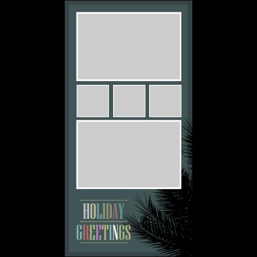 Holiday Greetings Grey