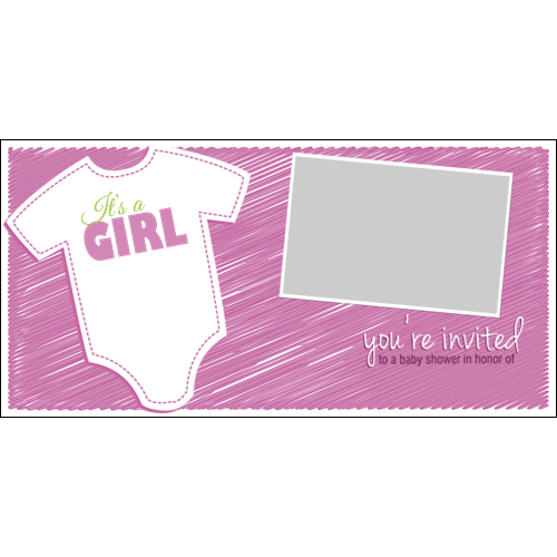 Baby Shower Clothing Girl