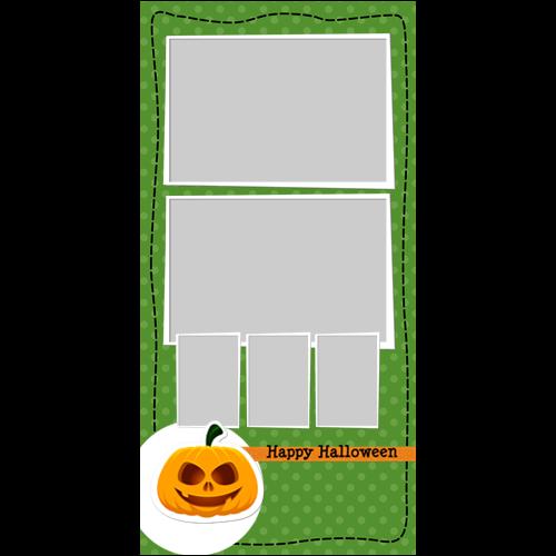 4x8 Happy Halloween Pumpkin P