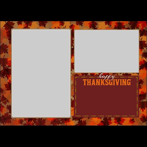 5x7 Thanksgiving Lot Maple L