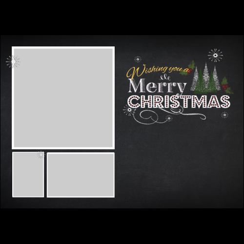 Christmas Dark Board