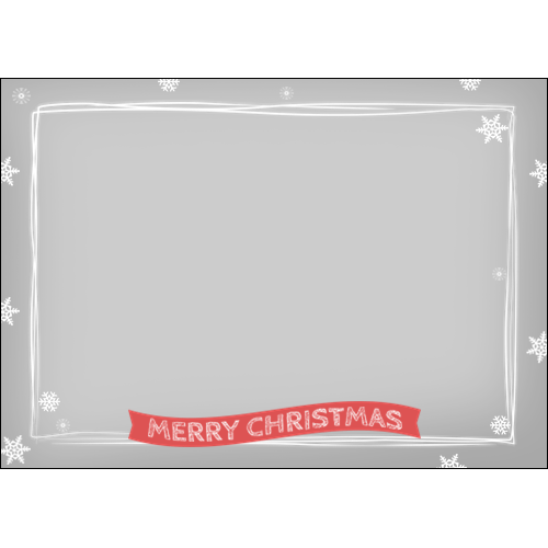 Merry Christmas Simple Lines