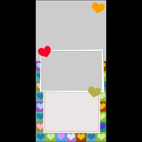 4x8 Valentines Heart Boxes P