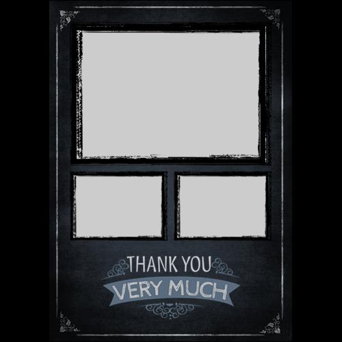 Thank You Chalk Board P