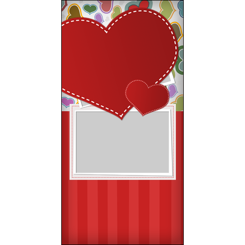 4x8 Valentines Scrapbook P