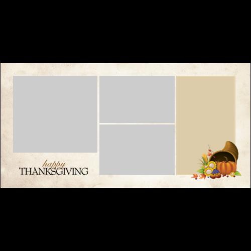 4x8 Thanksgiving Cornucopia L