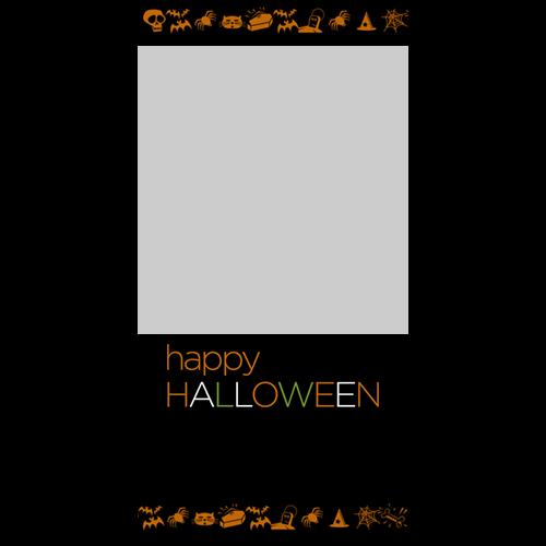 4x8 Happy Halloween Simple P