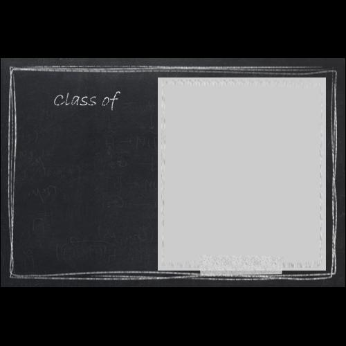 Graduation Invitation Blackboard L