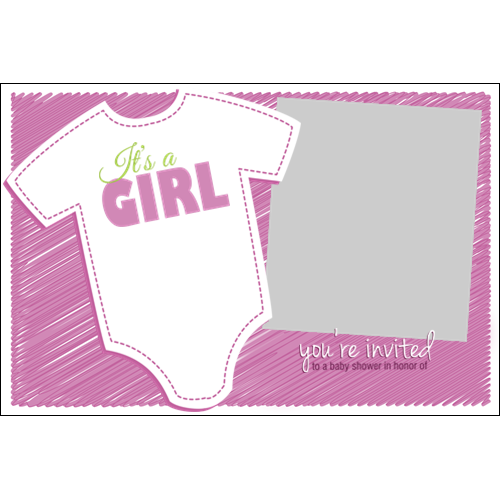 Baby Shower Clothing Girl L