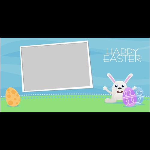 Easter Rabbit Eggs L
