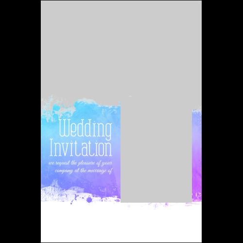 Wedding Invitation Painting P