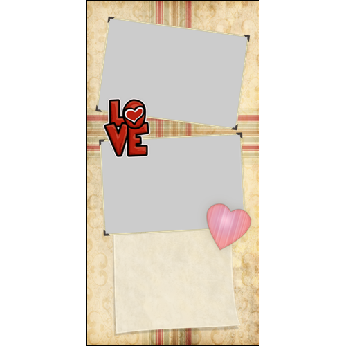 4x8 Valentines Old Style P