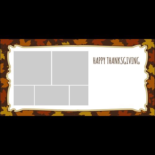 4x8 Thanksgiving Flowers L