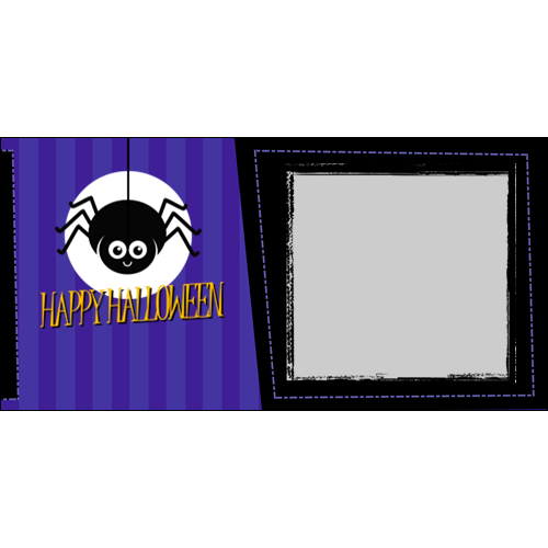 4x8 Happy Halloween Spider L
