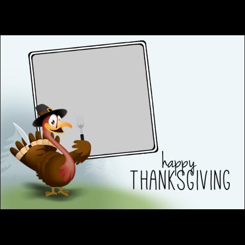 5x7 Thanksgiving Turkey L