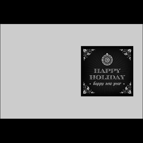 Happy Holiday Dark Board