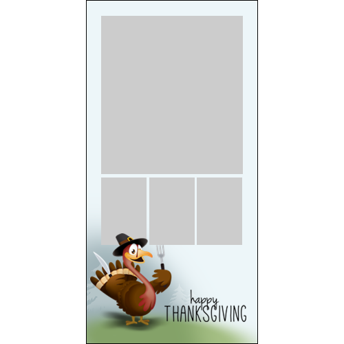 4x8 Thanksgiving Turkey P