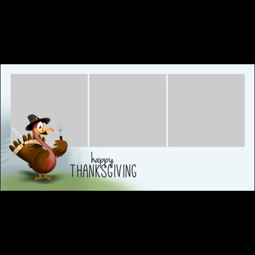 4x8 Thanksgiving Turkey L