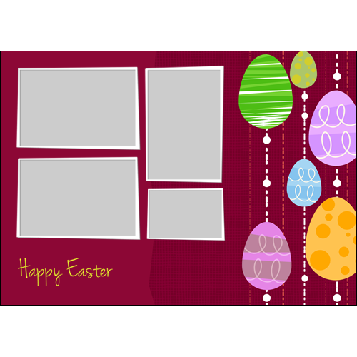 Easter Colored Eggs L