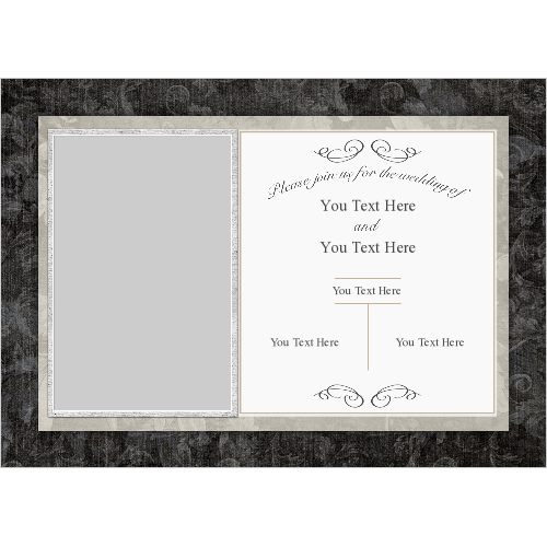 Wedding Invitations Old Card