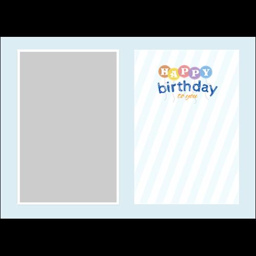Birthday Balloons Blue