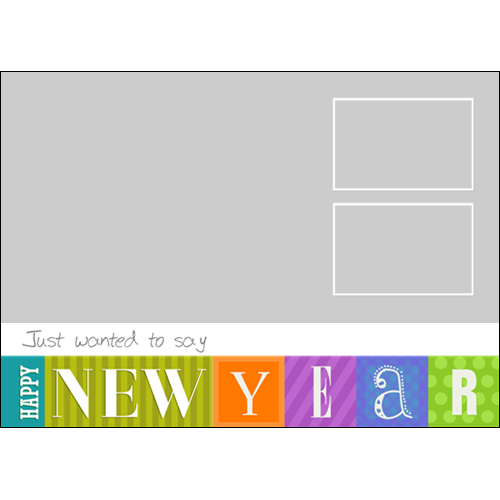 New Year Color Boxes L