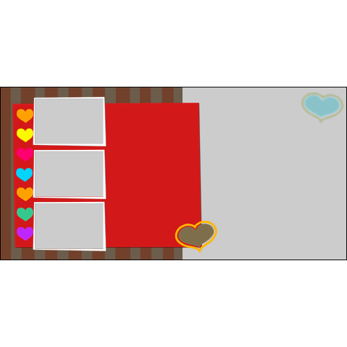 4x8 Valentines Collage L