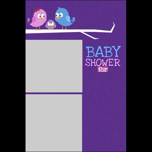 Baby Shower Birds P