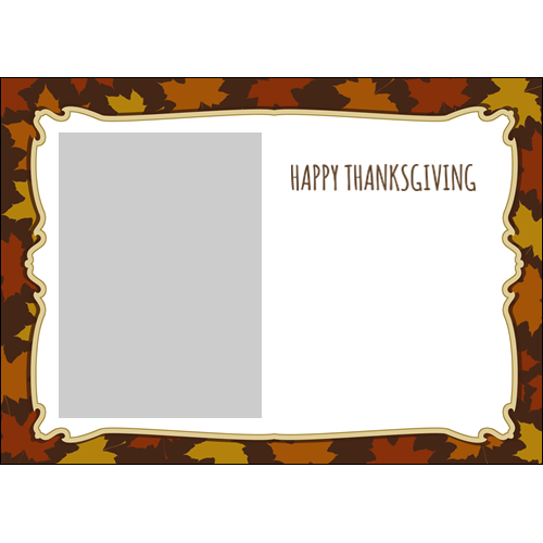 5x7 Thanksgiving Flowers L