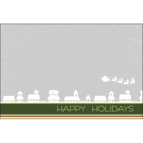 Happy Holiday Christmas Houses