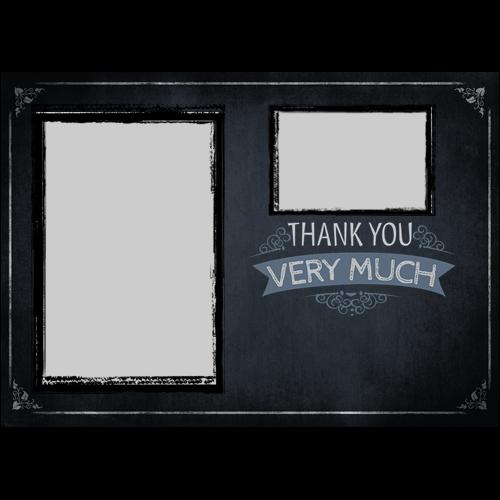 Thank You Chalk Board L