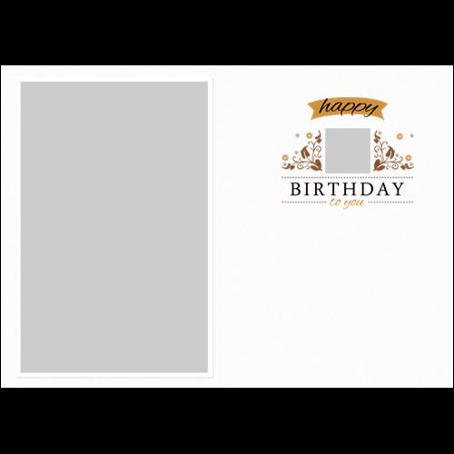 Birthday Elegant White