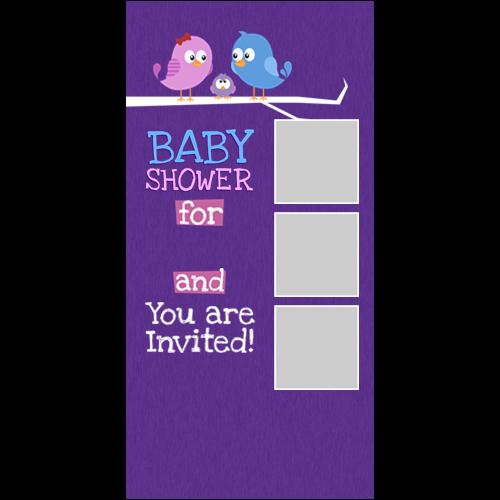Baby Shower Birds